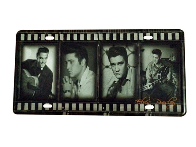 PLACA DECORATIVA METAL ELVIS PRESLEY