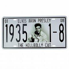 PLACA METAL ELVIS A PRESLEY