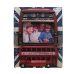 PORTA RETRATO 1 FOTO 10x15CM LONDON BUS