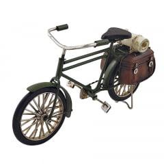 Bicicleta Miniatura Metal Decoração Vintage Retrô